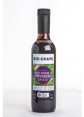 BIO-GRAPE Certified Organic Red Wine & Pepperberry Sauce