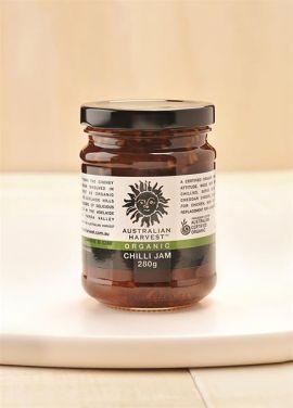 AUSTRALIAN HARVEST Organic Chilli Jam