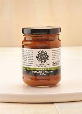 AUSTRALIAN HARVEST Organic Tomato Kasundi