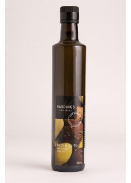 HARDINGS HERB & GARLIC EVOO