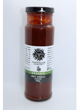 AUSTRALIAN HARVEST Organic Hot Chilli Sauce