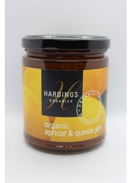 Hardings Organic Apricot & Quince Jam 280g