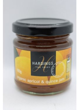 HARDINGS ORGANIC APRICOT & QUINCE JAM 100G